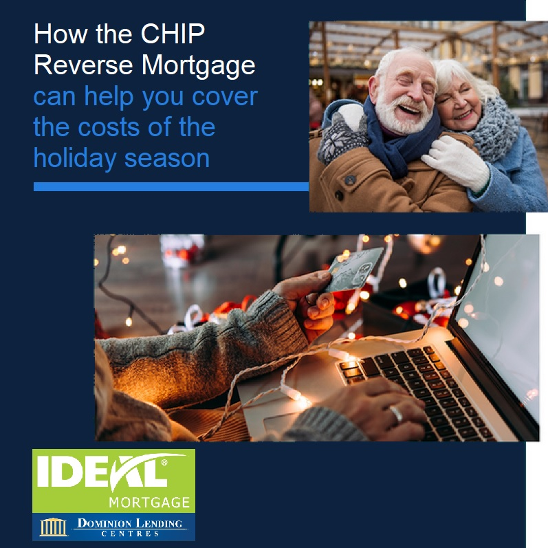 How a CHIP Reverse Mortgage Can Help You Cover the Costs of the Holiday Season.