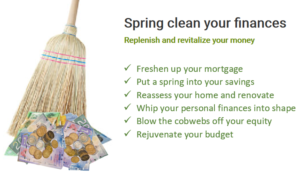Does your financial house need a good Spring Clean?